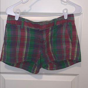Old navy plaid shorts